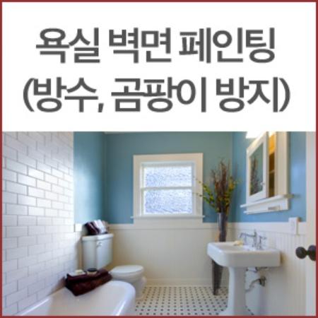 [던-에드워드]욕실 벽면 페인트(방수,곰팡이방지)