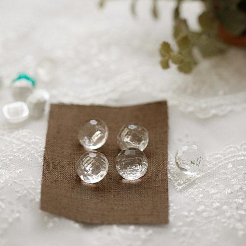 NE/[Crystal]jewelry shirts button