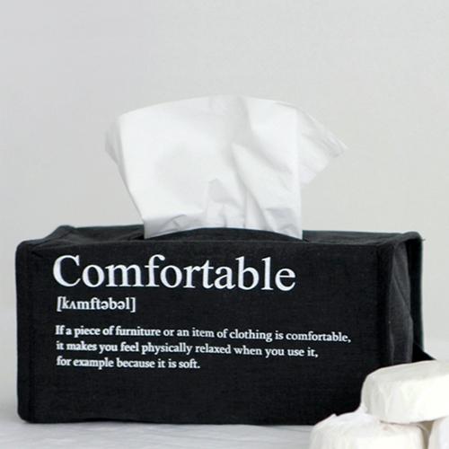 NE/스퀘어 티슈케이스 _ life in comfort