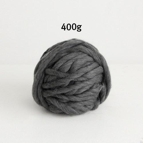 NE/400g대용량/ 챠콜] 빅 로빙사 (루피망고st 굵은털실)