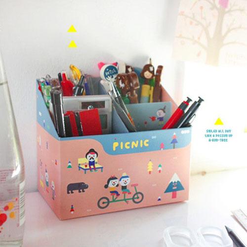 PAPER PENCIL BOX PICNIC