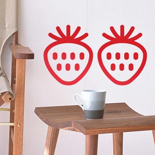 북유럽패턴2-딸기