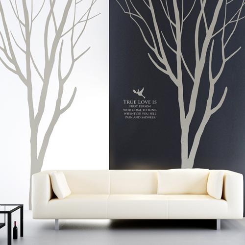 해피스토리 (나무1그루)  그래픽스티커 포인트  시트지