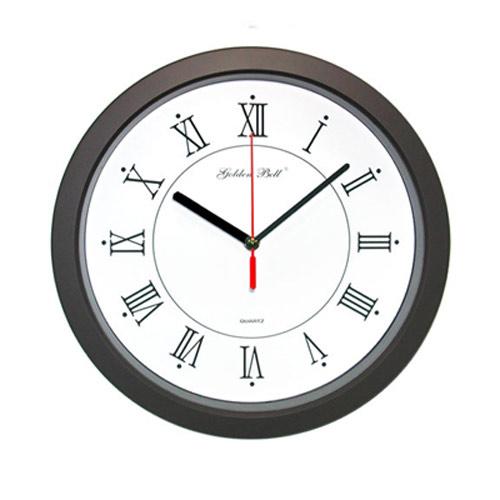 고급무소음벽시계(GB4019) 월넛