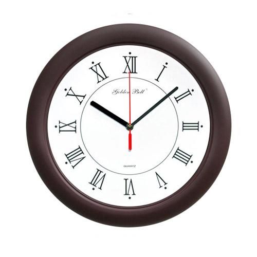 고급무소음벽시계(GB4031) 밤색 320파이