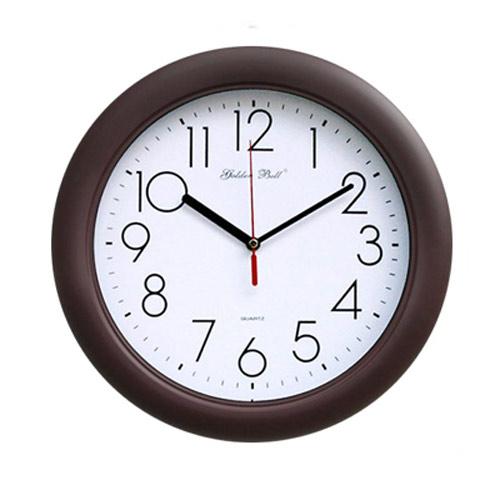 고급무소음벽시계(GB4032) 밤색 320파이