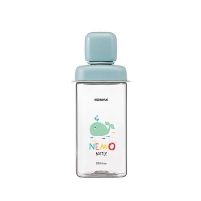 코멕스 네모물병 430ml[민트 고래]