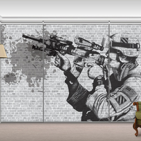 GL11710 - Soldier Mural