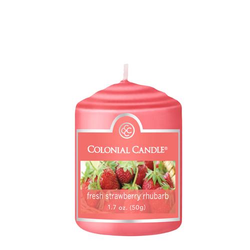 [콜로니얼 캔들] 보티브 캔들 1.7oz 딸기 루바브