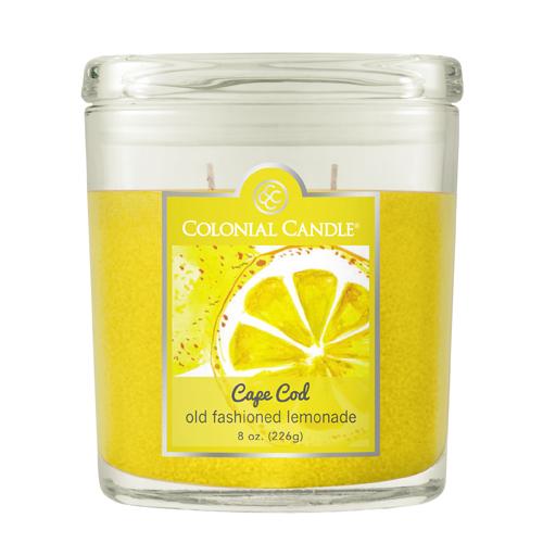 [콜로니얼 캔들2933] 2위크 병양초 8oz 옛날식 레몬에이드