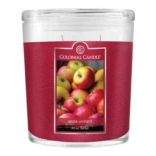 [콜로니얼 캔들1135] 2위크 병양초 22oz 사과 과수원