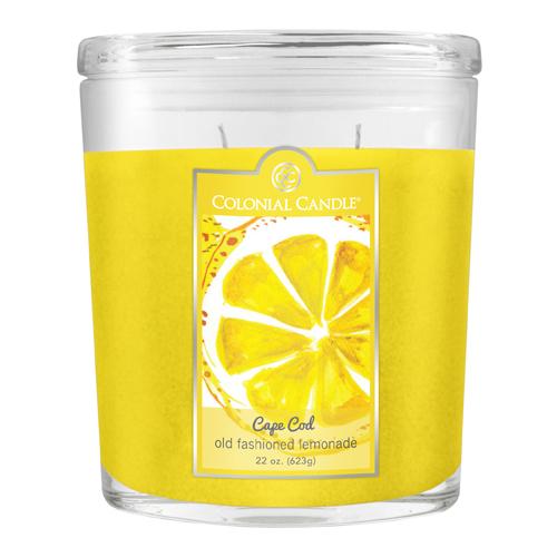 [콜로니얼 캔들2933] 2위크 병양초 22oz 옛날식 레몬에이드