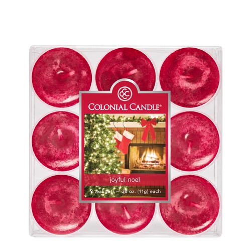 [콜로니얼 캔들1961] 티라이트(9pk)캔들 즐거운 크리스마스