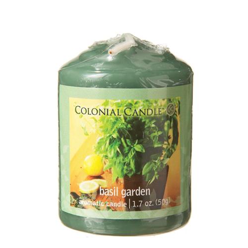 [콜로니얼 캔들] 보티브 캔들 1.7oz 바질 정원