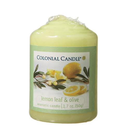 [콜로니얼 캔들] 보티브 캔들 1.7oz 레몬잎과 올리브
