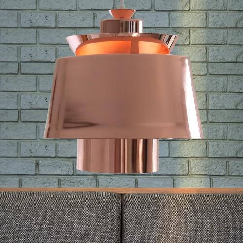 LED 로즈(로즈골드) 1등 펜던트 식탁등 인테리어조명