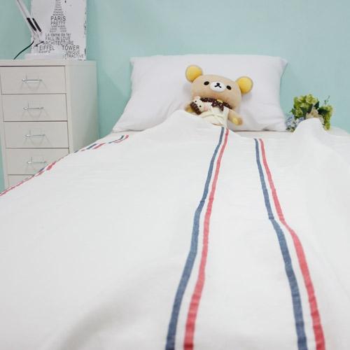 투라인 레드블루 어린이집 낮잠이불