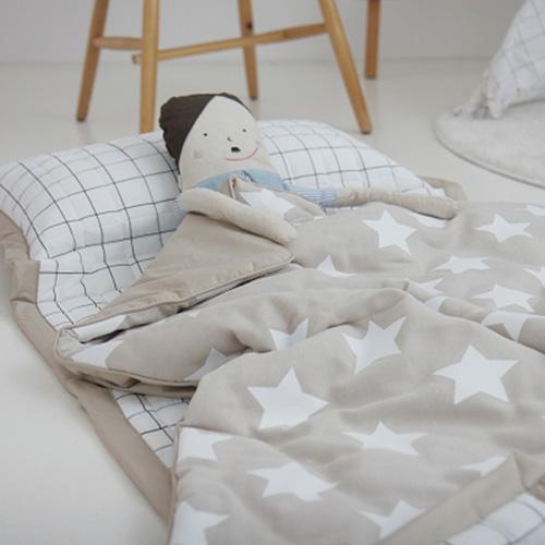 별베이지 낮잠이불