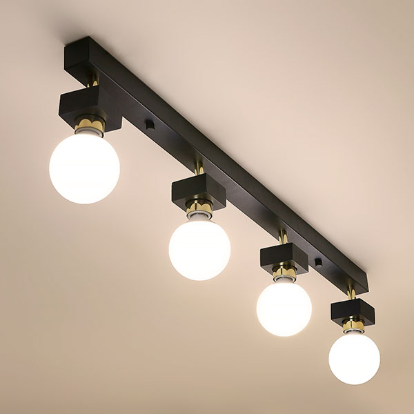 [LED] 미숑4등 직부등(일자형-2color)