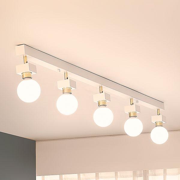 [LED] 미숑5등 직부등(일자형-2color)