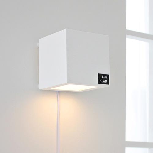[LED] 케어 벽걸이 스탠드-블랙&화이트