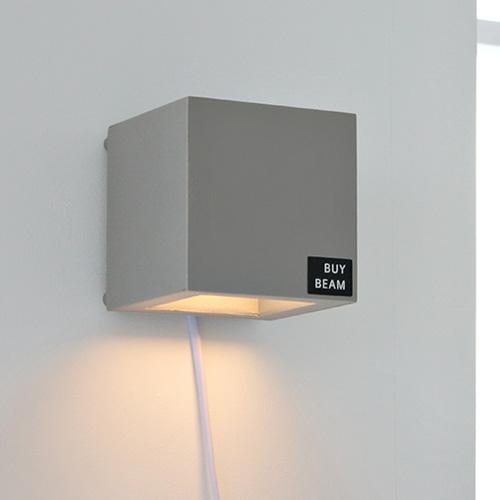 [LED] 케어 벽걸이 스탠드-그레이