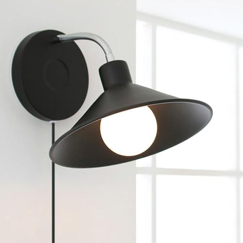[LED] 플루토 벽걸이 [블랙&화이트]