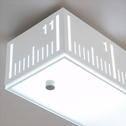 [LED] 룰러 주방등(대)-블랙or화이트