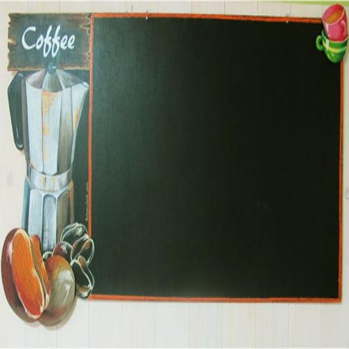 입체형 커피와 포트_1