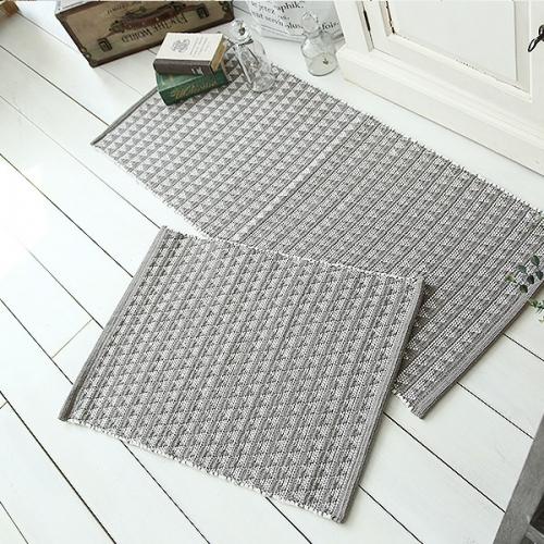 스칸디나비아 수직 면 양면매트 + 주방매트 set