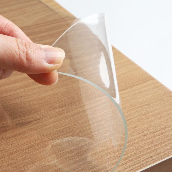 유리대용 투명매트-사각[폭40cm] (두께2mm)