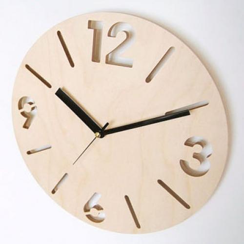 자작나무 벽시계 NC13(지름-28cm)