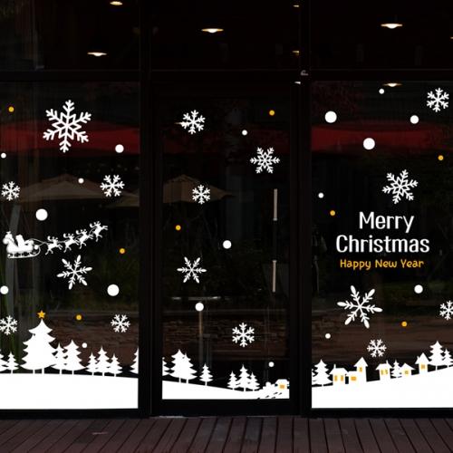 cmi248-크리스마스에 축복을-크리스마스스티커