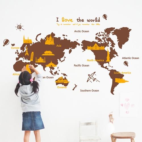 ijs046-i love the world(세계지도-대형)