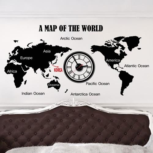 jkc072-월드맵_그래픽시계