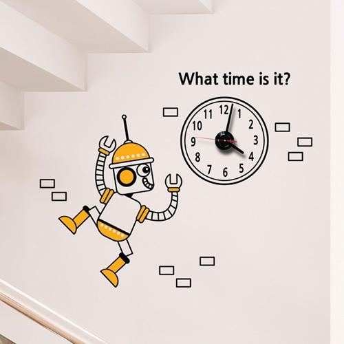 jkc108-아이 러브 로봇2_그래픽시계