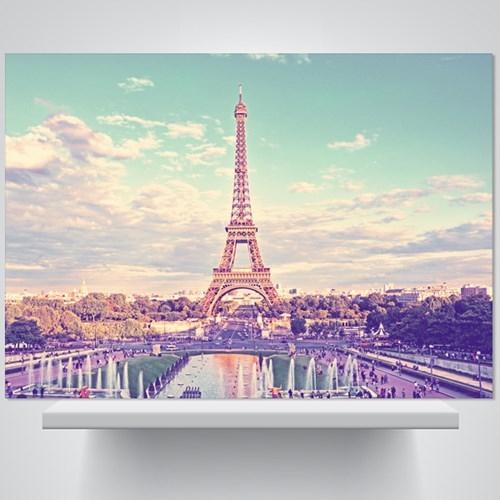 블루 에펠탑 - 감성사진 폼보드 액자