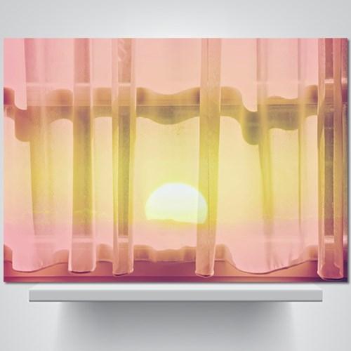 어느새 일출 - 감성사진 폼보드 액자