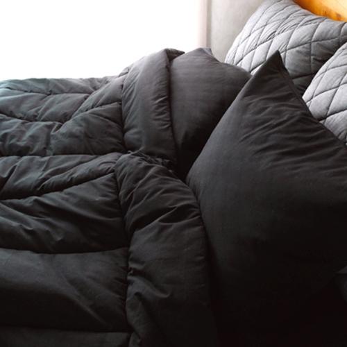 매니쉬 차렵 침구세트(블랙) - 슈퍼싱글풀세트