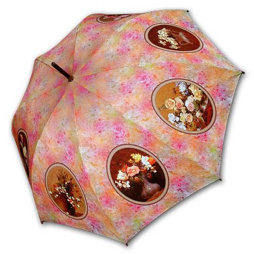 Hello RainCats 앙리 팡탱 라투르(W) 자동우산