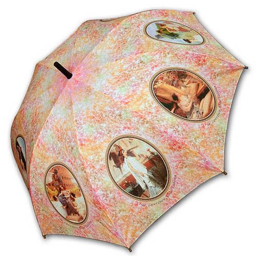 Hello RainCats 로렌스 알마 타데마 자동우산