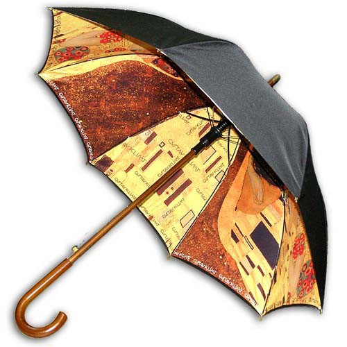 Hello RainCats 클림트_키스(w) 이중 자동우산
