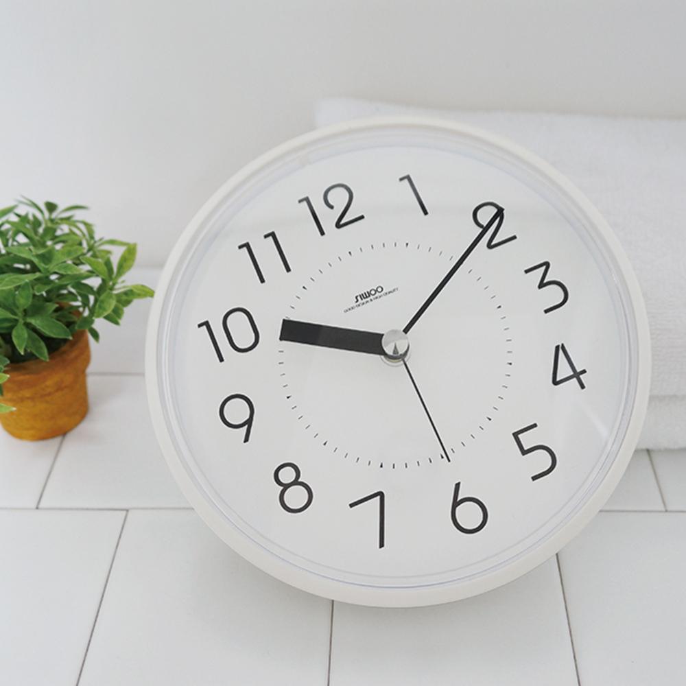 하루 욕실 방수 흡착시계 (4color)