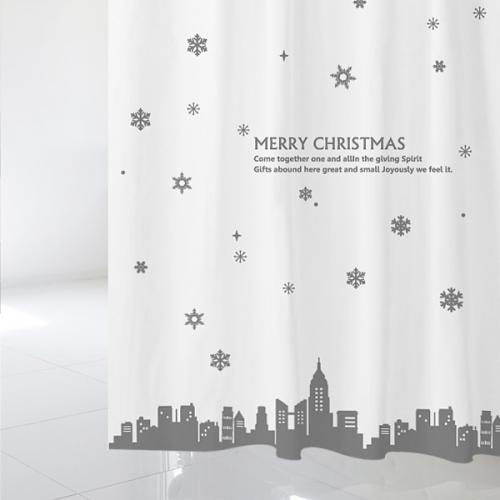 [샤워 커튼]크리스마스 샤워커튼 CSC 03