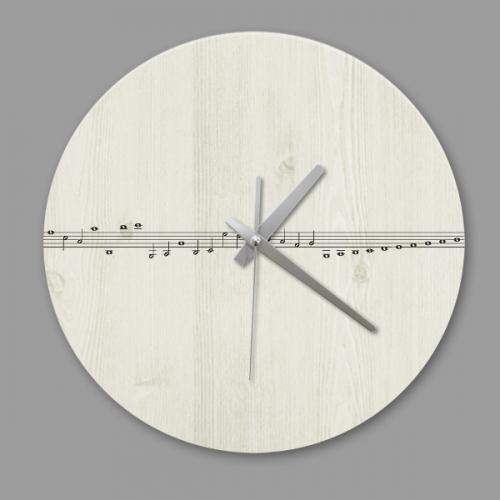 [디자인 시계]빈티지 음악선율