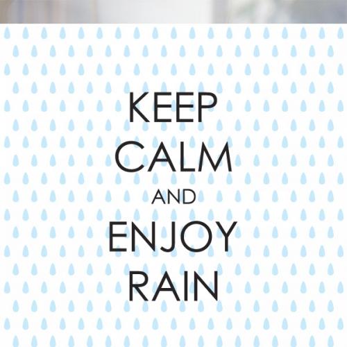 [불투명 창문시트]KEEP RAIN