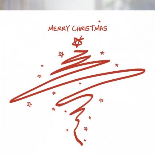 [불투명 창문시트]크리스마스 스타일 NTCCW01