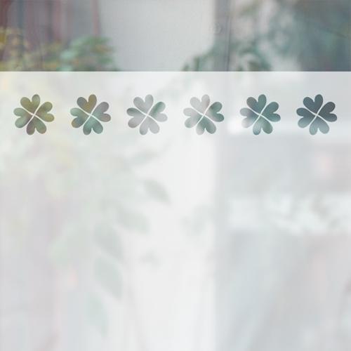 [미스트 스티커]하트 네잎클로버