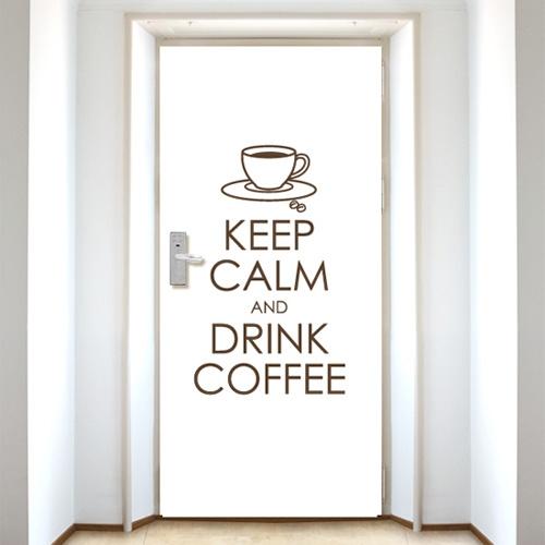 [현관문]keep coffee - 화이트