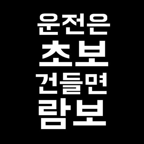 [자동차 스티커]BB82